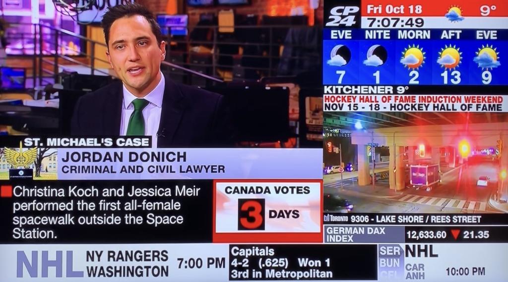 Toronto Criminal Lawyer Jordan Donich CP24