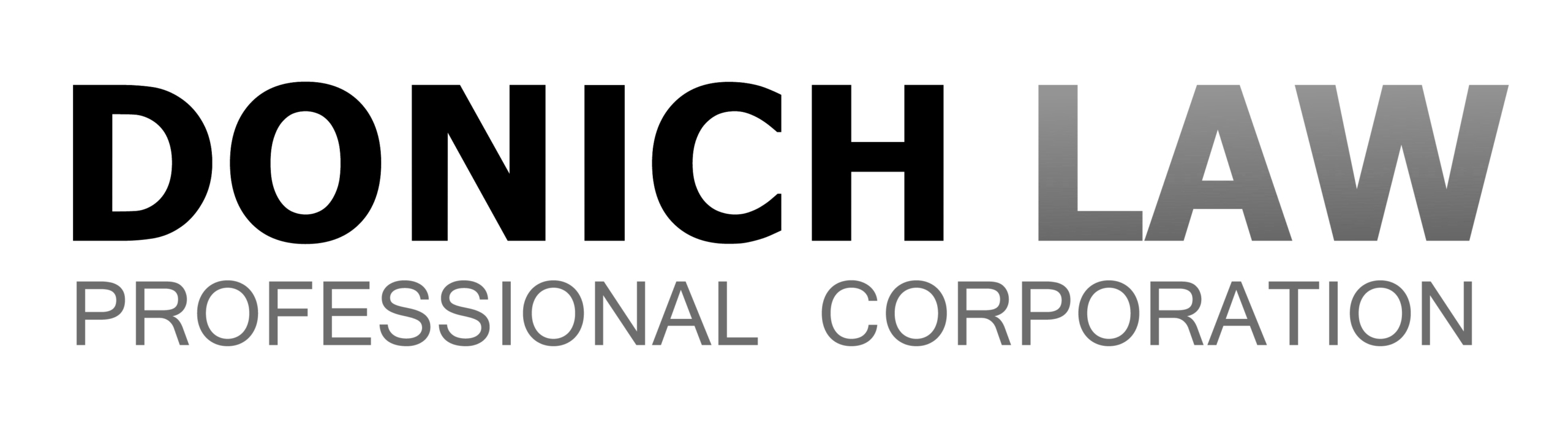 Donich Law Logo